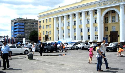 Автосалон-2012 в Ульяновске
