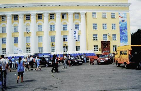 Площадь Ленина в Ульяновске