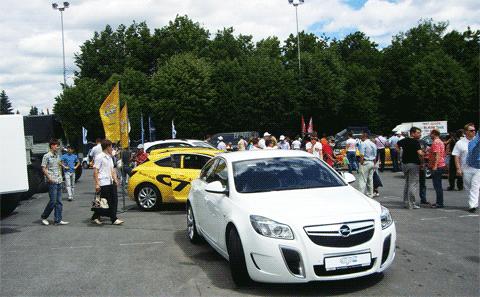 Opel Insignia OPC, Автосалон-2012