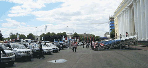 Nissan, Автосалон2012 в Ульяновске