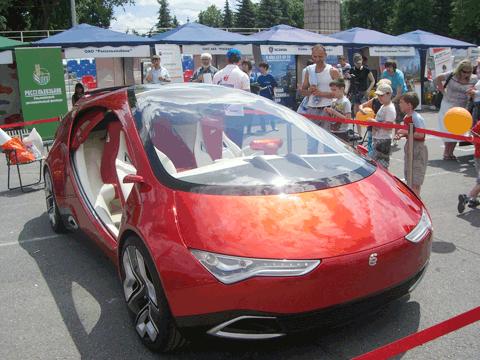 Ё-Мобиль, Автосалон 2012