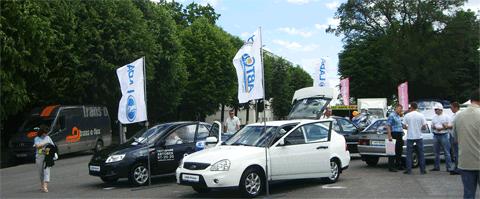 Автомобили ВАЗ, Автосалон 2012