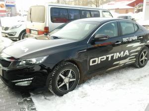Kia Optima, привод передний, класс D+