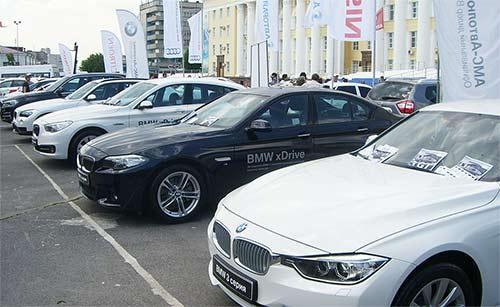 Выставка автомобилей - Автосалон 2014