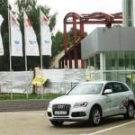 Audi Q5 рейстайлинг 2013