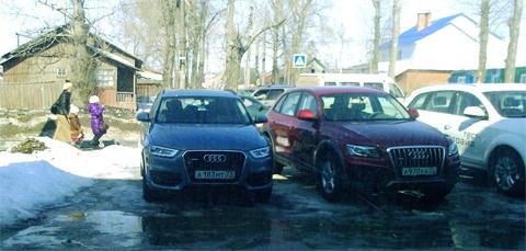 Audi Q3, 211л.с., TFSI, АКПП
