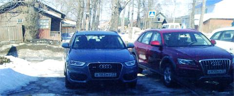 Audi Q3 - компактный кроссовер