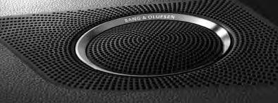 Опционально можно заказать аудио систему Bang & Olufsen