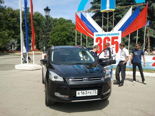 Автосалон-2013 - Ford Kuga (smart crossover)