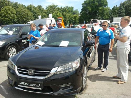Автосалон-2013 - Honda Accord 9