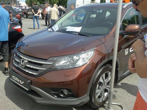 Автосалон-2013 - Honda CR-V
