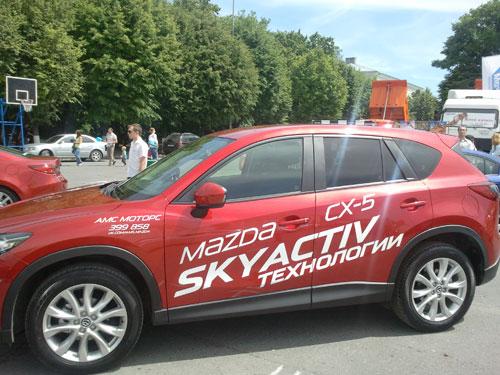 Автосалон-2013 - Mazda CX-5