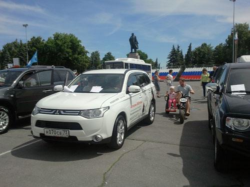 Автосалон-2013 - Mitsubishi Outlander