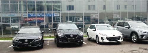 Автосалон Mazda-AMS-Motors