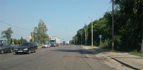 Трасса М5 Урал, объездная по окраине Пензы
