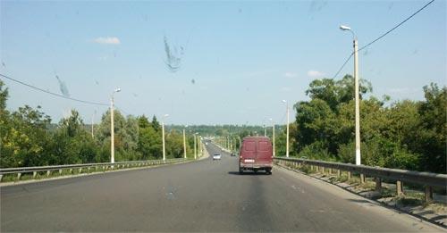 Трасса М5 Урал, объездная вокруг Пензы