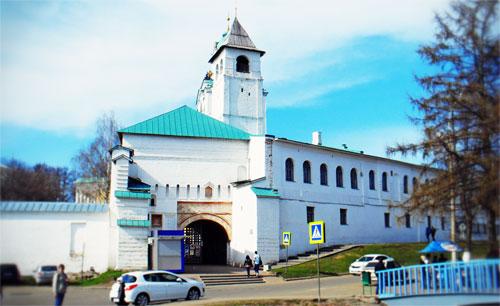 Навигационная система в поездке в Ярославль