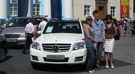Mercedes Benz GLK 300 (Влако-Сервис, г.Тольятти)