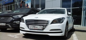 Тест драйв Hyundai Genesis