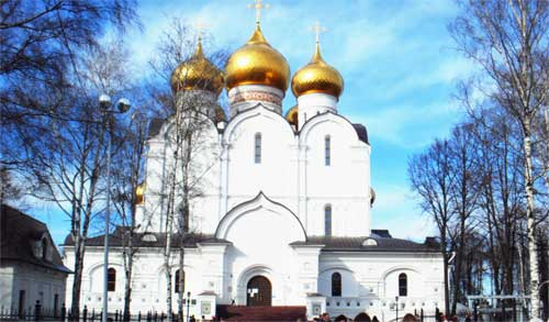 Храм в Ярославле