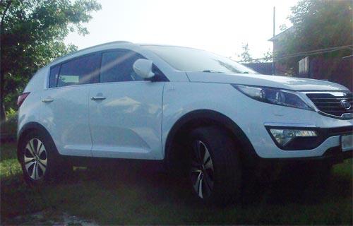 KIA Sportage 3 (КИА Спортейдж 3), ДВС 2.0 л, мощность 150 л.с., кр. момент 197 Н*м, AWD