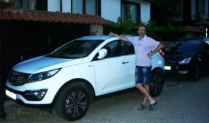 KIA Sportage New, Болгария 2012