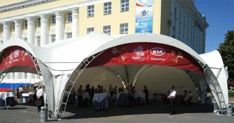 Kia-Тур 2012: Киа-Кафе