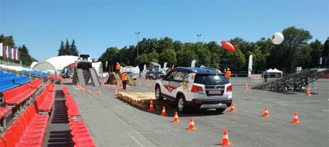 Kia-Тур 2012: Полоса препятствий - проверка подвески