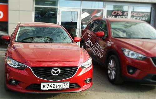 Тест драйв Mazda6