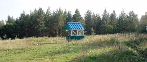 Одинокая беседка, где-то между Новоспасским и Кузоватово