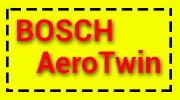 Щетка стеклоочистителя Bosch AeroTwin