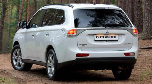 Тест драйв Mitsubishi Outlander