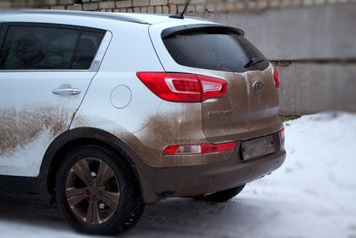 Ну, что за погода... постоянно машина грязная