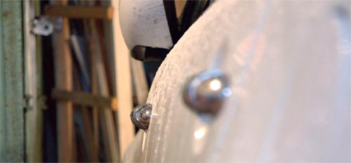 Передняя ручка двери