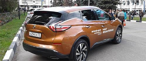 Новый Nissan Murano – выставка Автоквартал