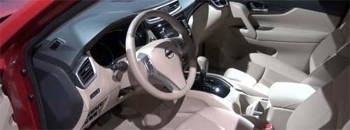 Интерьер Nissan X-Trail 2014