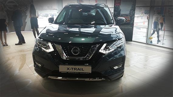 Презентация обновлённого Nissan X-Trail 2019