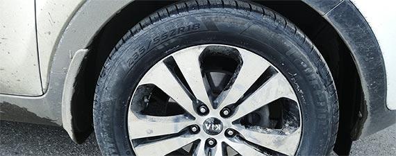 Новые шины – Laufenn 235/55 R18