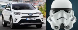 Обновлённый Toyota RAV4 и Звёздные войны