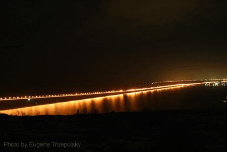 Новый мост через Волгу в Ульяновске