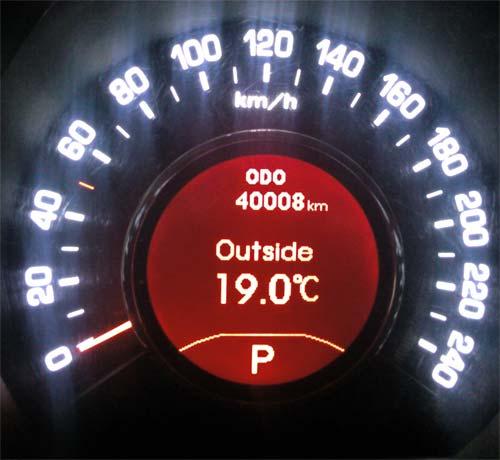 Kia Sportage 3 - пробег 40000 км за 2 года