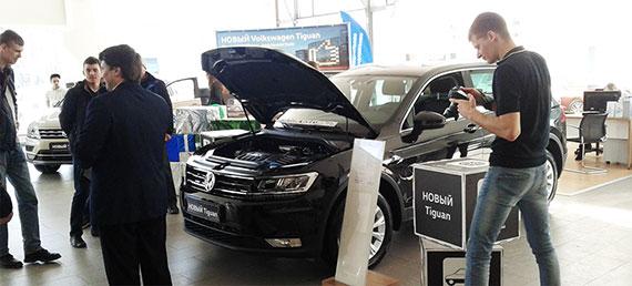 Новый Volkswagen Tiguan - презентация