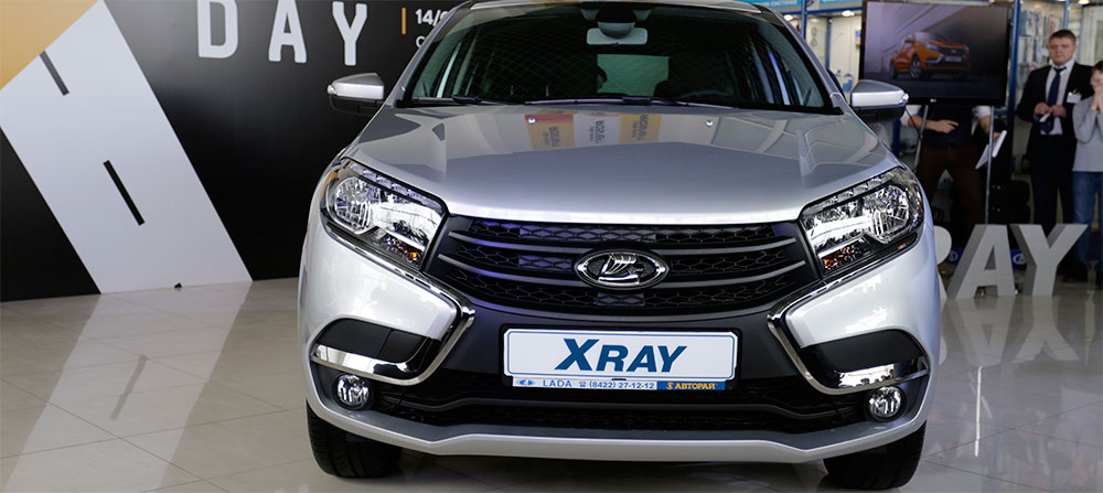 Презентация Lada XRay