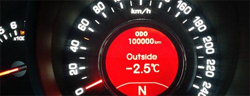 Kia Sportage 3 - пробег 100000 км