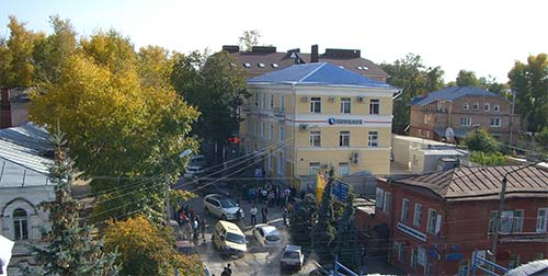 ЧП на улице Матросова (Ульяновск)