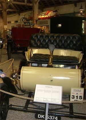 Один из первых автомобилей