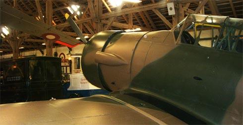 Боевой самолет времен II-ой Мировой войны