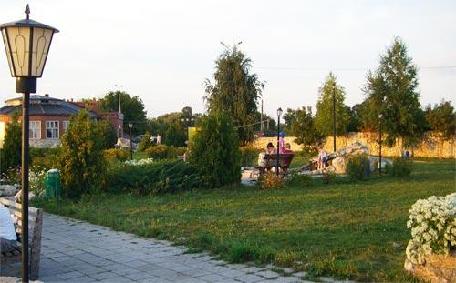 Вертолетная площадка, место отдыха, Самара