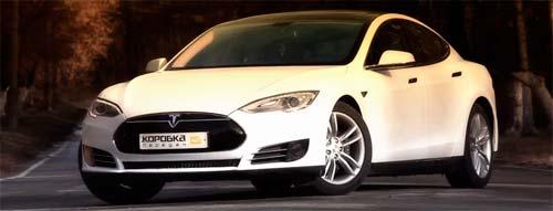 Электромобиль Tesla Model S в России - тест драйв