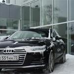 Тест драйв Audi A4 (2016)